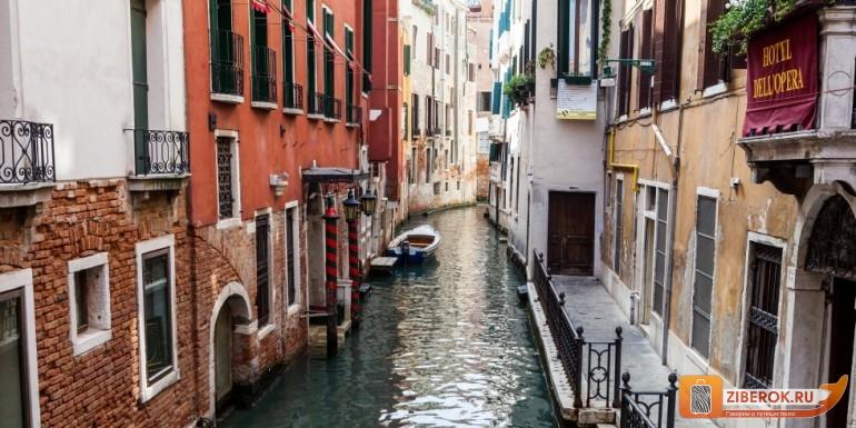 Uzkie ulochki Venecii